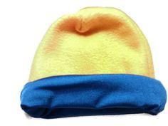 Bright Yellow Winter Fleece Baby Toddler and by BabyHatIsland, $15.00