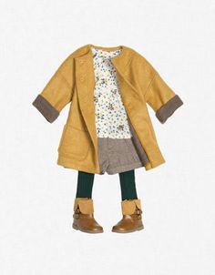 Ideas Fashion Kids Zara Little Girls Little Girl Outfits, Little Girl Fashion, Toddler Fashion, Toddler Outfits, Kids Fashion, Babies Fashion, Toddler Girls, Zara Baby Clothes, Cute Baby Clothes