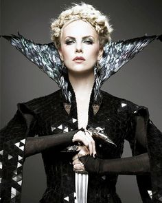 Snow White And The Huntsman -- Charlize Theron  the costuming in this movie was amazing!