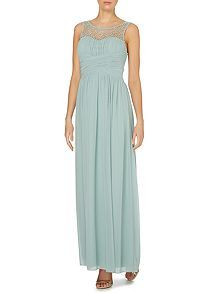 Simple long dress comfortable summer outfite