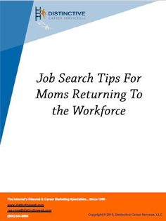 After a long time of staying at home being a full-time mother, you may anticipate wanting to get back to work, but as what most of the mothers who want to or just got back to work would tell you, searching for a job will not be as easy and even as enjoyable (at first) as it seems. Here are some tips to help you out.
