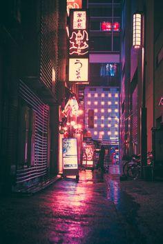 PURPLE AESTHETIC /// purple / pink / inspiration / neon colors / neon cities / c… – Wallpaper ideas Aesthetic Japan, Night Aesthetic, Japanese Aesthetic, Purple Aesthetic, Aesthetic Art, Aesthetic Light, City Wallpaper, Scenery Wallpaper, Aesthetic Iphone Wallpaper