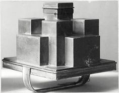 Iced dessert mold, designed by Josef Hoffmann - 1903, Vienna.