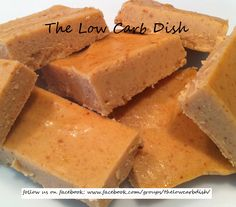 Low Carb Sinfully Good Peanut Butter Fudge - I made this and it was GOOD!