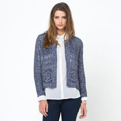 Veste cardigan SOFT GREY
