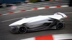 2015 Geneva Motor Show, Futuristic Car, ED Torq, Race Car, Driverless Car, No Windows, Driver Is Optional, Self-Driving Car