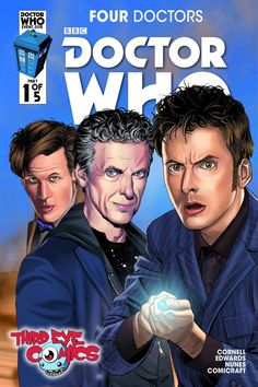 Four Doctors #1 (Third Eye Variant by Mariano Laclaustra).
