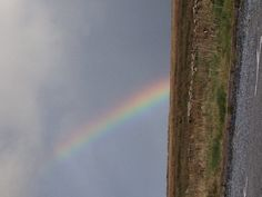 Irish rainbow by Cliffs of Moher