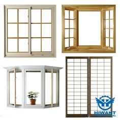 Delicate appearance and durable in use, Hiwant aluminium profile for all kinds of windows.