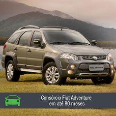 O novo Fiat Adventure traz novos detalhes estéticos que o deixaram com o visual mais robusto e agressivo. Confira na matéria: https://www.consorciodeautomoveis.com.br/noticias/consorcio-fiat-adventure-2014-a-partir-de-r-675-47-mensais?idcampanha=206&utm_source=Pinterest&utm_medium=Perfil&utm_campaign=redessociais