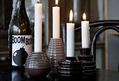 Cono Candlesticks by Kähler.