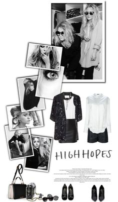 """""""The Olsen Twins - Iconic"""" by e-daniels ❤ liked on Polyvore"""