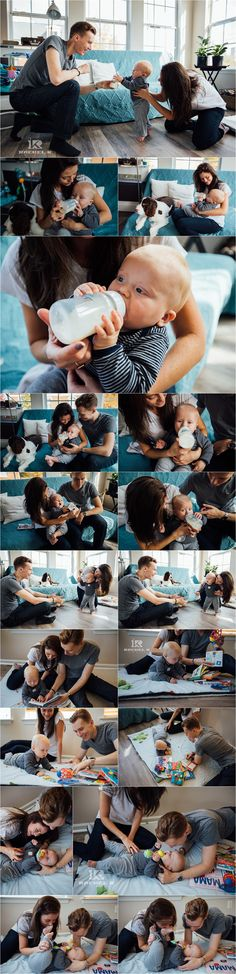 Northern Virginia indoor lifestyle session with 8 month old by Rachel K Photo