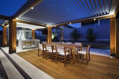 Exotic resort-style landscape design in Hillarys | Designhunter - architecture & design blog