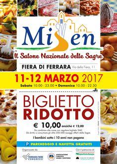 Misen - Salone Nazionale delle Sagre di Ferrara (11 Marzo 2017)
