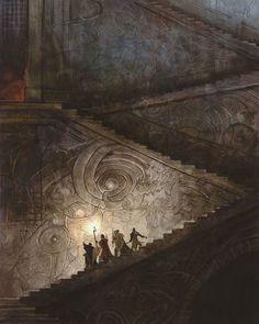 Illustration fantasy digital art wizards fantasy art Dungeons and Dragons fantasy concept art Dungeons And Dragons, Medieval, Fantasy Artwork, Fantasy Art, Painting, Illustration Art, Fantasy Landscape, Art, Environmental Art
