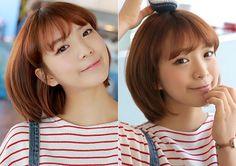 wispy bangs Korean Bangs, Wispy Bangs, Korean Fashion, Hair Cuts, Hairstyle, K Fashion, Haircuts, Hair Job, Hair Style