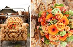 #photography #weddings #flowers #cows #chair #vintage