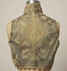 Ottoman Turkish Vest Back