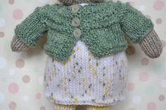Bunny-girl Soft Bunny Toy Bunny Doll Bunny Toy Knit