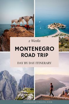 Discover the most beautiful places to visit in Montenegro on this unique road trip itinerary. Explore the Dinaric Alps, the Prokletije mountains, Bay of Kotor, and Budva Riviera. Planning a Montenegro Road Trip? Use this perfect Mon Road Trip Map, Road Trip Europe, Road Trip Hacks, Best Road Trip Songs, Road Trip Playlist, Arizona Road Trip, Beautiful Places To Visit, Cool Places To Visit, Montenegro Travel