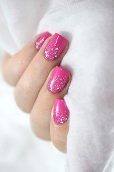 Marine Loves Polish: Glitter gradient + Téléphone de NPA :D