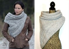 A 'Catching' Trend: Katniss Everdeen's DIY scarf
