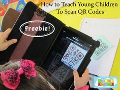 Teaching Young Children to Scan QR Codes