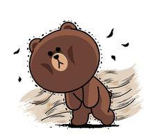 Bunny And Bear, My Teddy Bear, Cute Love Gif, Cute Cat Gif, Cony Brown, Brown Bear, Cute Drawings Of Love, Cute Couple Cartoon, Cartoon Gifs