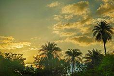 Beautiful Evening Sunset Jhalawar India