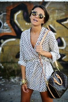 Lovely Pepa Mini Summer Wrap Dress with Shades