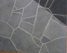 Graphite Grey Crazy Pave Flagstone