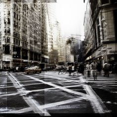 NY Cross Road II - Laurent Dequick
