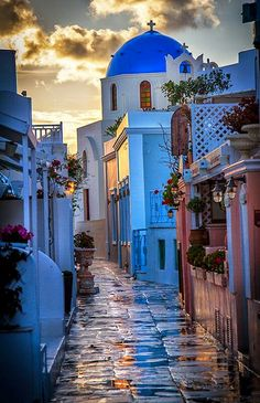 Blue Dusk, Santorini, Greece (The Best Travel Photos)