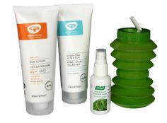 Make sure you're protected in the glorious sunshine this summer with this Sunny Eco Festival Kit.