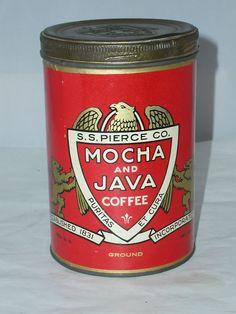 S.S. Pierce Mocha & Java Coffee