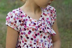 children's fashion workshop - blog - dotted maxi dress