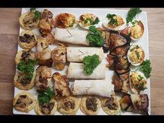 ТОП-5 ЗАКУСОК НА ПРАЗДНИЧНЫЙ СТОЛ!!!Легко и вкусно!!! - YouTube Meat, Chicken, Youtube, Food, Essen, Meals, Youtubers, Yemek, Youtube Movies