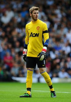 1 David de Gea Quintana Date of birth:07.11.1990 Place of birth:Madrid   Age:23 Height:1,89 Nationality:  Spain Position:Goalkeeper Foot:right Market value:15.000.000 £ 17.000.000 €
