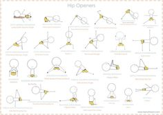hip openers iyengar yoga - Google Search