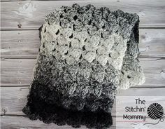 Scarf of the Month Club hosted by Oombawka Design and The Stitchin' Mommy - 2 FREE crochet patterns every month, for 12 months! February Pattern: Fluffy Clusters Infinity Scarf   www.thestitchinmommy.com