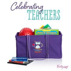Teachers love Thirty-One and Thirty-One loves Teachers!!