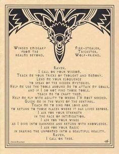 Raven Prayer