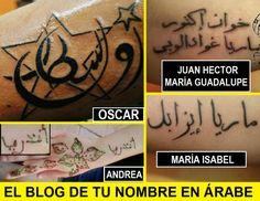tatuajes árabes de nombres de mujer: http://tunombreenarabe.blogspot.com/2014/04/tatuajes-de-nombres-en-arabe-mujeres.html tatuajes árabes de nombres de Hombre: http://tunombreenarabe.blogspot.com/2014/05/tatuajes-de-nombres-en-arabe-masculinos.html Tu nombre en árabe: http://tunombreenarabe.blogspot.com/p/blog-page.html