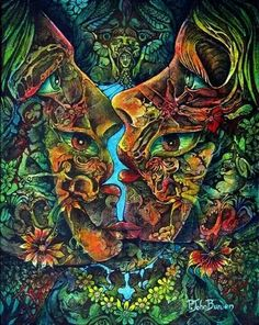 Psychedelic Art Beautiful! Now that is how it is done. Bravo to the unknown artist