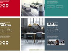 Brochure design for a Russian furniture company by STUDIOJQ