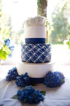 Blue and yellow diy oregon wedding white wedding cakes, yellow wedding, cak Nautical Wedding Cakes, Navy Blue Wedding Cakes, Yellow Wedding, Zulu Wedding, Pantone, Traditional Wedding Cakes, Setswana Traditional Dresses, Modern Traditional, Glamorous Wedding
