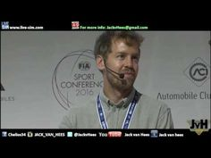 Formula1 Interview with Sebastian Vettel at 2016 FIA Sport Conference