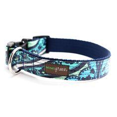 Lark Laminated Cotton Dog Collar