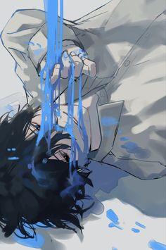 Manga Illustration, Illustrations, Pretty Art, Cute Art, Aesthetic Art, Aesthetic Anime, Another Anime, Anime Artwork, Boy Art